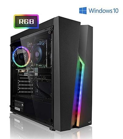Megaport PC Gamer Nomad - AMD Ryzen 5 2600 6x3.40 GHz • GeForce GTX1650