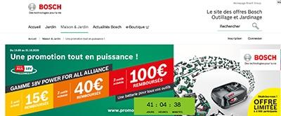 Bosch promotion ODR