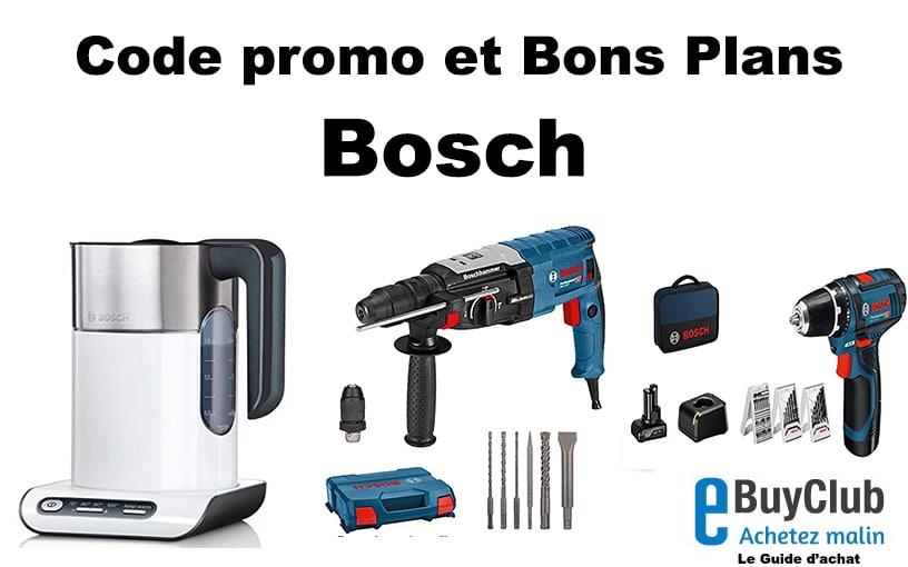 Code promo Bosch réductions soldes et bons plans