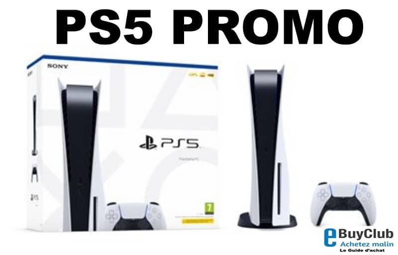PS5 promo prix pas cher