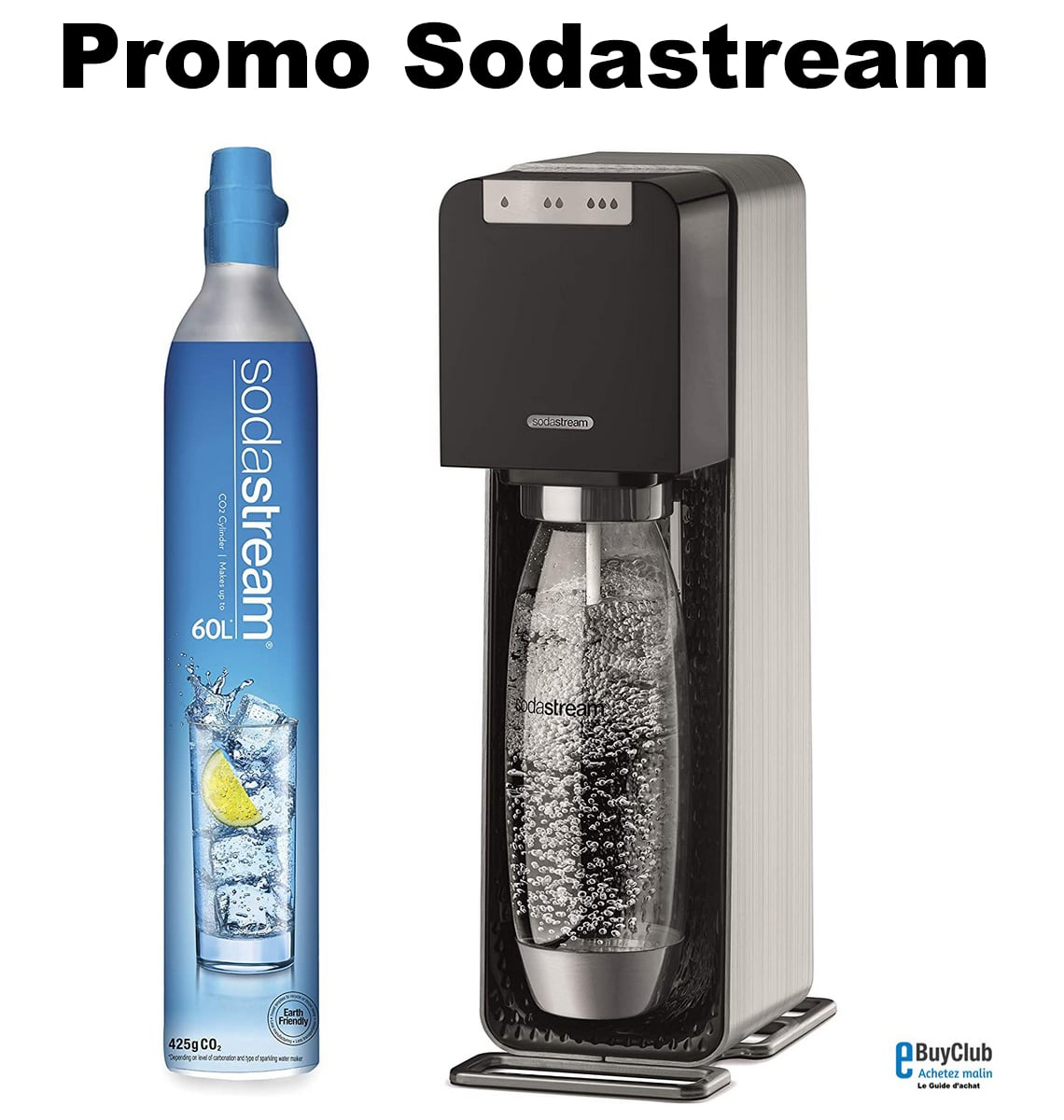 Promo Sodastream prix pas cher