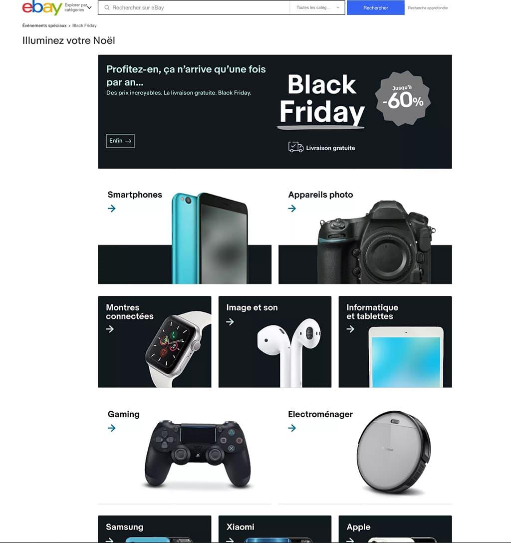 Black Friday deals ebay