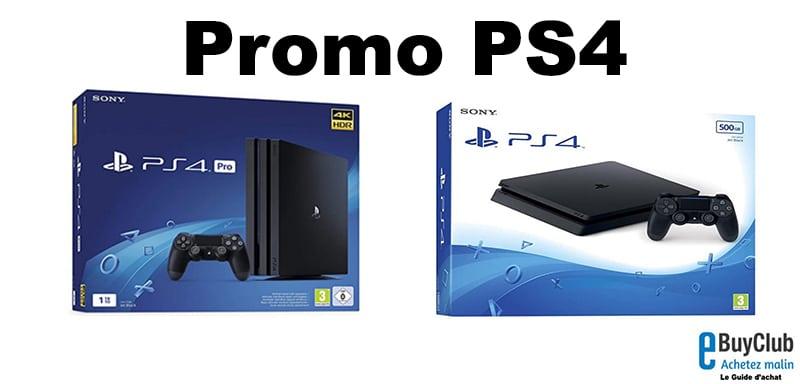 Promo PS4 prix pas cher
