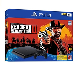 PS4 Slim Red Dead 2