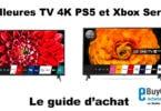 Meilleure TV 4K PS5 et Xbox series