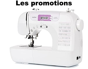 Promo machine à coudre