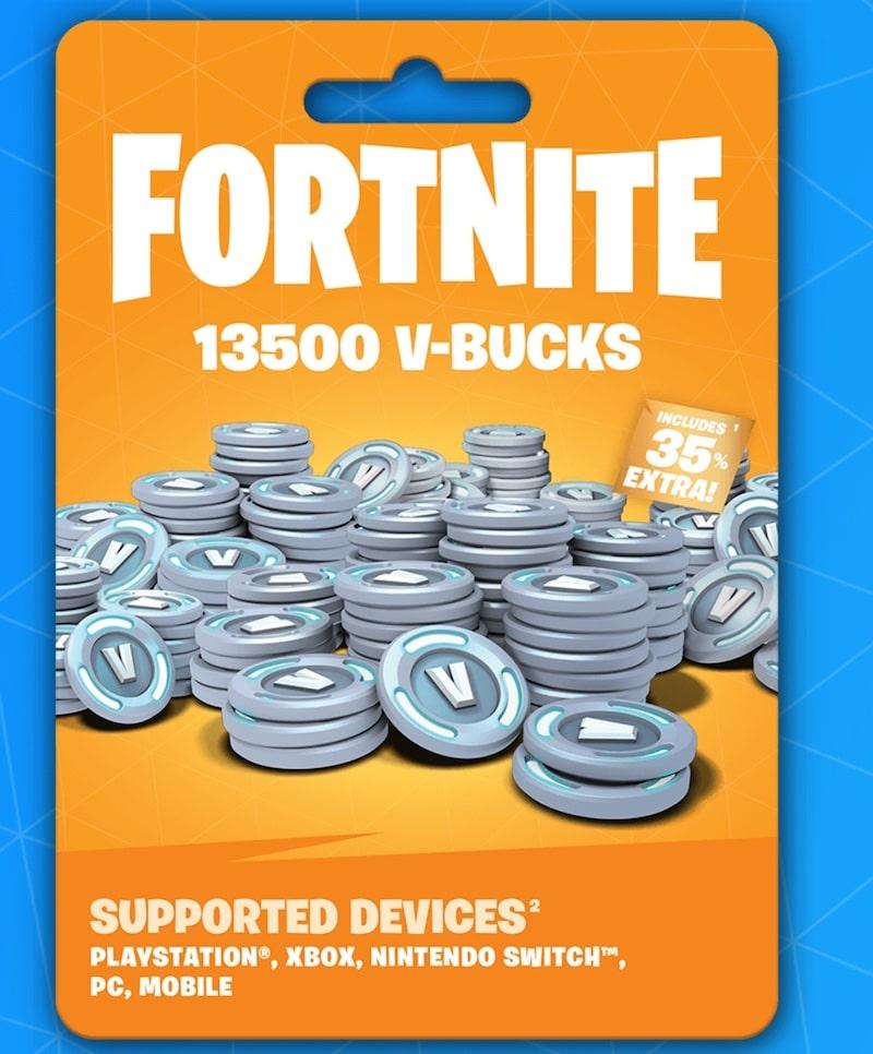 Carte cadeau Fortnite V bucks