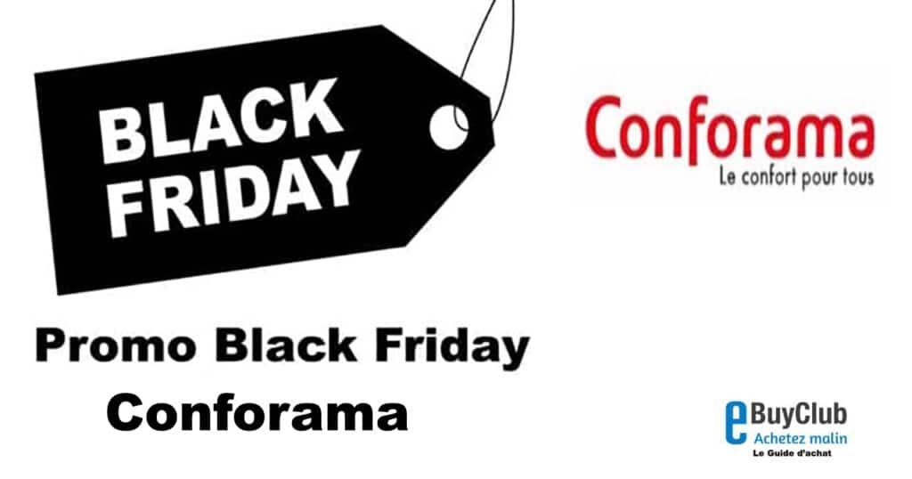 Black Friday Conforama 2021