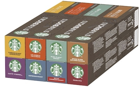Capsule Nespresso Starbucks