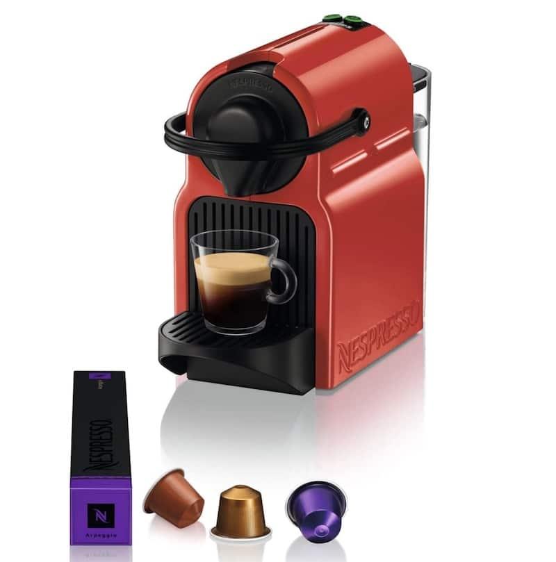 Promo machine nespresso